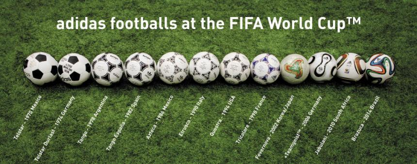 HISTORY WORLD CUP BALLS 3